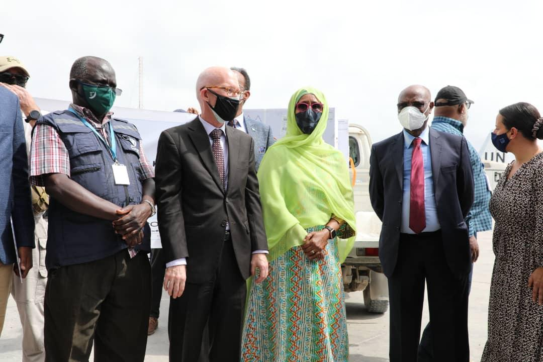 Somalia received first shipment of COVID-19 vaccines from COVAX Facility.