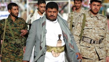 Mohammed Ali Al-Houthi (C) head of the Revolutionary Committees in Yemen, 6 June 2017 [Wikipedia]