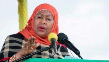 Tanzania's new President Samia Suluhu Hassan